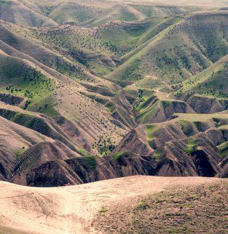 Judaean Desert A 'Rain Shadow' Desert