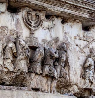 First Jewish Roman War - Titus Arch